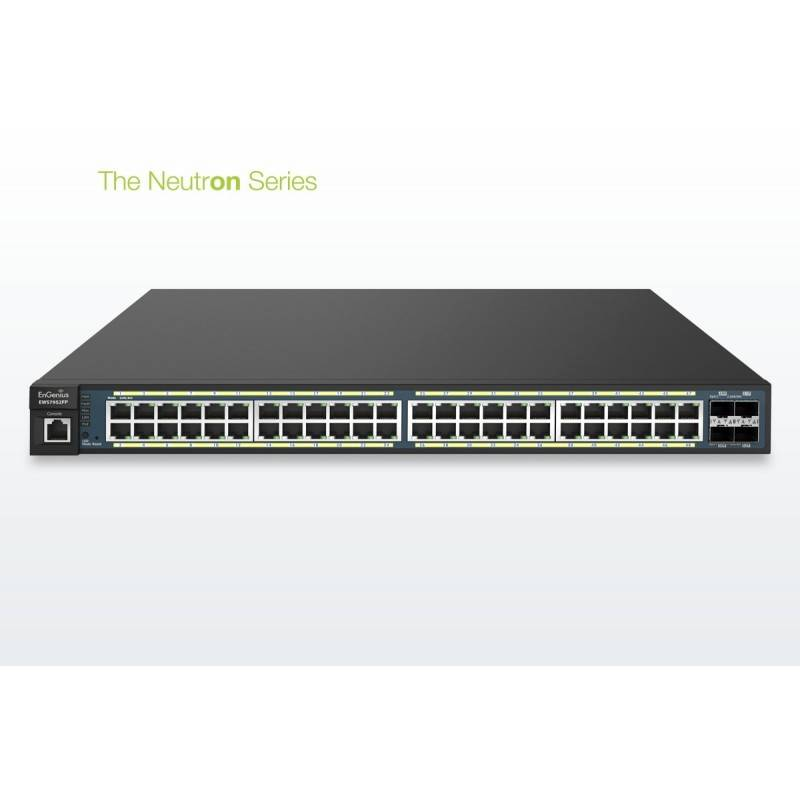 EnGenius EWS7952FP Neutron Managed L2 Switch 48 Port POE Gigabit พร้อม 4 Port SFP