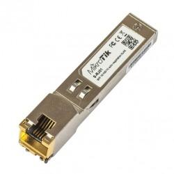 MikroTIK MiniGBIC / SFP Module Mikrotik S-RJ01 SFP To RJ45 เชื่อมต่อกับ Port SFP เพื่อแปลงเป็นสาย Lan RJ45 ความเร็ว Gigabit
