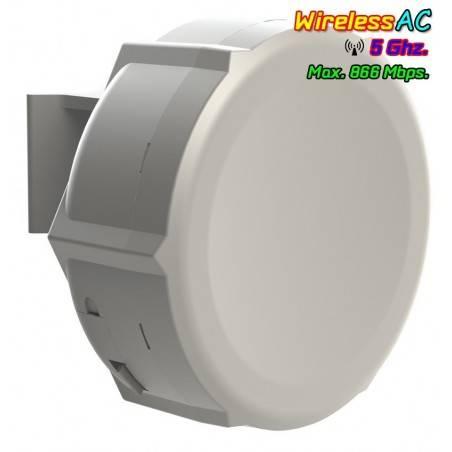 Mikrotik SXT-5AC Wireless Access Point แบบภายนอกอาคาร 5GHz มาตรฐาน ac ความเร็วสูงสุด 866Mbps