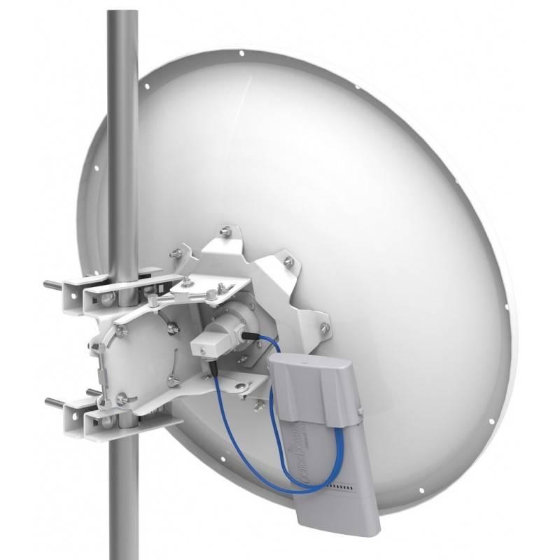 MikroTIK Mikrotik mANT30-PA เสาอากาศ Outdoor แบบ Dish ขนาด 30dBi พร้อมชุดปรับองศา