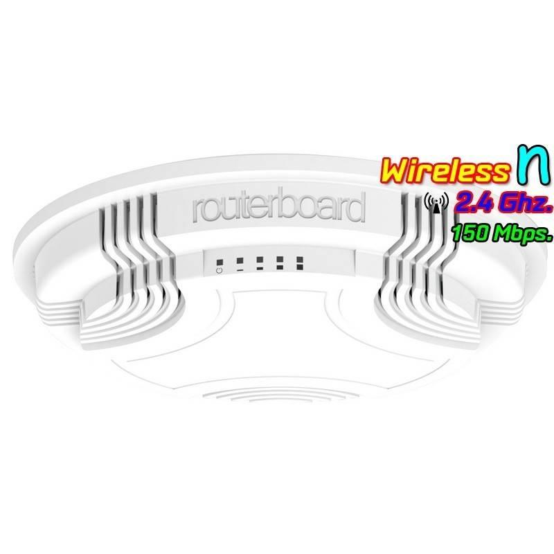 Mikrotik cAP 2n Wireless Access Point ภายในอาคาร 2.4GHz ความเร็ว 150Mbps พร้อม POE Mikrotik (ไมโครติก)