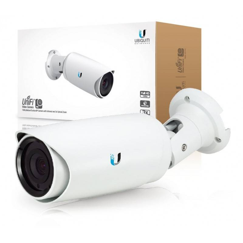 Ubiquiti Unifi Video Camera Pro (UVC-Pro) กล้อง IP Camera มาตรฐาน H.264 1080p Full HD, Zoom 3x, IR LED Night Mode, POE