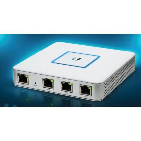 Ubiquiti Unifi Security Gateway (USG) อุปกรณ์ Firewall Router รองรับ VLAN, VPN และ QOS, Throughput 1ล้าน   PPS