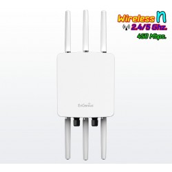 EnGenius Engenius (เอ็นจีเนียส) Engenius ENH900Ext AccessPoint ภายนอกอาคาร ความถี่ 2.4/5 GHz 450Mbps 6 เสา รองรับเครือข่าย Mesh