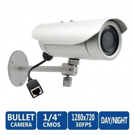 ACTi Bullet IP-Camera รุ่น E31 ความละเอียด 1MP แบบภายนอกอาคาร Censor CMOS รองรับ Day/Night