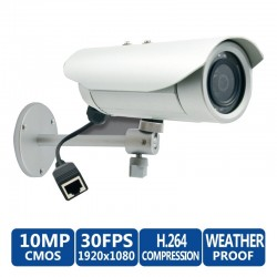 ACTi ACTi (แอคตี้) ACTi Bullet E37 10MP Day/Night IP Weatherproof & Vandal-Proof with Adaptive IR LEDs & 3.6mm Fixed Lens