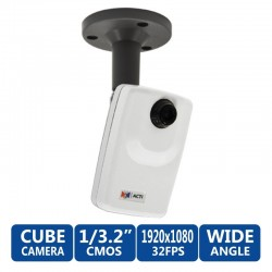ACTi Cube D12 ความละเอียด 3 Megapixel 1080P HD IP Security Camera
