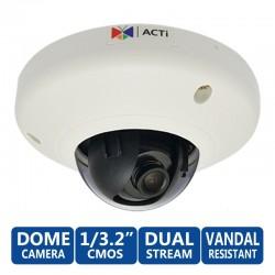 ACTi Dome E92 ความละเอียด 3MP 1080p ภายในอาคาร Basic WDR & Fixed Lens