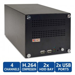 ACTi ENR-1000 Network Video Recorder (NVR) 4CH. 2Bay รองรับ 1080p x 4CH ACTi (แอคตี้)