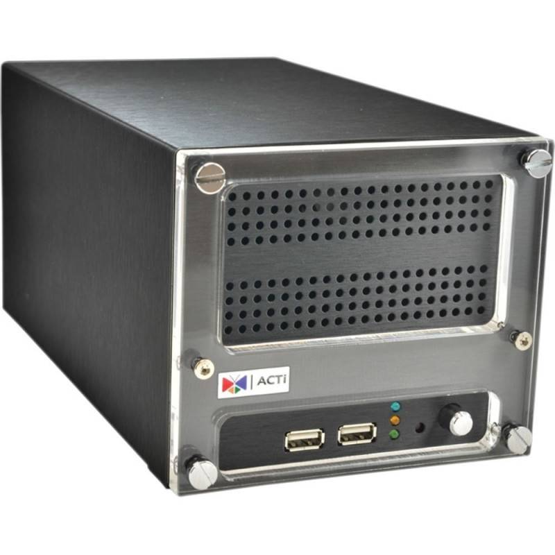 ACTi ACTi (แอคตี้) ACTi ENR-120 Network Video Recorder (NVR) 9CH. 2Bay รองรับ Throughput 36 Mbps