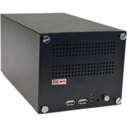 ACTi ACTi (แอคตี้) ACTi ENR-130 Network Video Recorder (NVR) 16CH. 2Bay รองรับ Throughput 48 Mbps