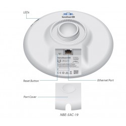Ubiquiti NanoBeam AC NBE-5AC-19 Wireless AC 450Mbps 5GHz 400mW เสา 19dBi ระยะ 3 Km Wireless AccessPoint (กระจายสัญญาณ WIFI)