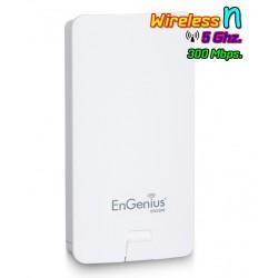 Engenius ENS500 Accees Point ภายนอกอาคาร ความถี่ 5GHz ความเร็ว 300Mbps กำลังส่ง 400mW เสา 10dBi Engenius (เอ็นจีเนียส)