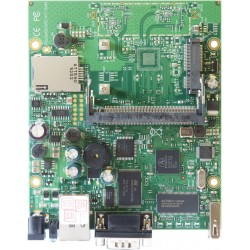 Mikrotik RouterBoard RB411U RouterOS Level 4, 1 Serial Port, 1MiniPCI-e slots, 1USB 2.0