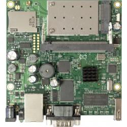 Mikrotik RouterBoard RB411UAHR RouterOS LV 4, CPU 680MHz Ram 64MB, 1Serial Port, 1MiniPCI-e slots, 1 USB Mikrotik Board (เฉพา...