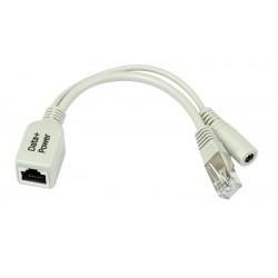 MikroTIK Mikrotik RBPOE อุปกรณ์ POE Injector (Power over Ethernet) ฝากไฟไปกับสาย Lan
