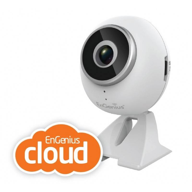 Engenius EDS1130 กล้อง Wireless IP Camera แบบไร้สาย ความละเอียด HD 720P IR พร้อม Clound ดูผ่าน Internet ฟรี
