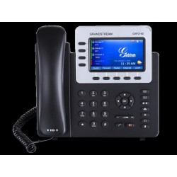 GrandStream GXP-2140 IP-Phone 4 คู่สาย, Bluetooth, 2 Port Lan, HD Audio, TFT LCD Color, 4-Way Conference, PoE