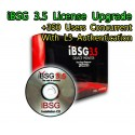 iBSG 3.5 License Upgrade-350 Ent เพิ่ม Users อีก 350 Users Concurrent สำหรับ iBSG Software และ The Box