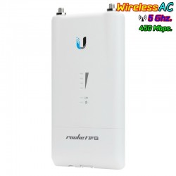 Ubiquiti Ubiquiti (ยูบิคิวตี้) Ubiquiti Rocket M5AC-Lite (R5AC-Lite) Access Point ภายนอกอาคาร มาตรฐาน AC ความถี่ 5GHz ความเร็...