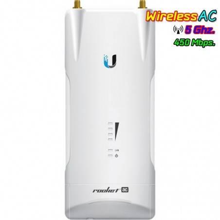 Ubiquiti Rocket M5AC-PtP (R5AC-PtP) Access Point ภายนอกอาคาร มาตรฐาน AC ความถี่ 5GHz ความเร็ว 450 Mbps