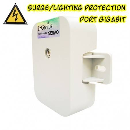 EnGenius ESA-7500G Surge/ Lightning Protector อุปกรณ์ปกป้องระบบเครือข่ายที่เกิดจากฟ้าผ่าผ่านสาย Lan