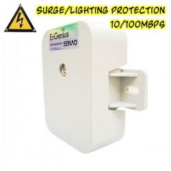 EnGenius ป้องกันฟ้าผ่า Surge/Lightning Protector EnGenius ESA-7500 Surge/Lightning Protector อุปกรณ์ปกป้องระบบเครือข่ายที่เกิ...