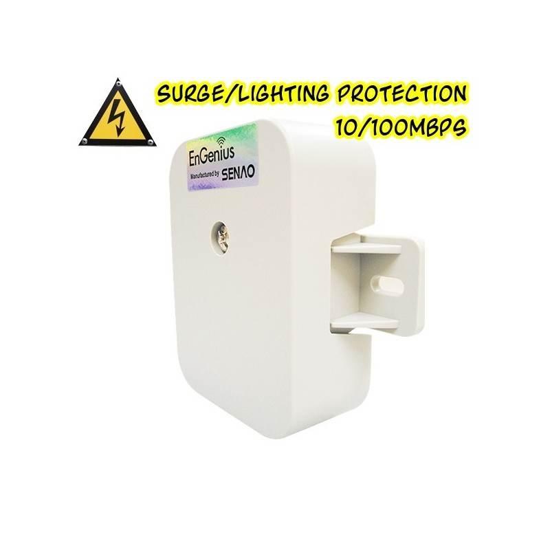 EnGenius ESA-7500 Surge/Lightning Protector อุปกรณ์ปกป้องระบบเครือข่ายที่เกิดจากฟ้าผ่าผ่านสาย Lan ป้องกันฟ้าผ่า Surge/Lightni...