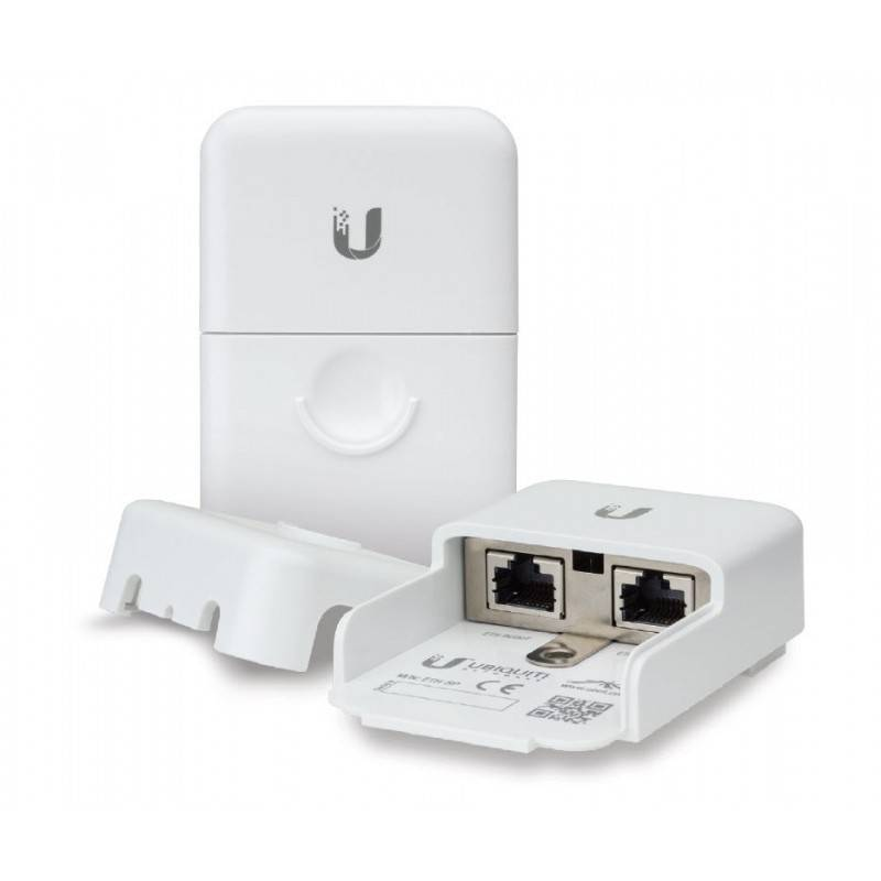 Ubiquiti Ubiquiti (ยูบิคิวตี้) Ubiquiti ETH-SP Ethernet Surge Protector อุปกรณ์ปกป้องระบบเครือข่ายที่เกิดจากฟ้าผ่าผ่านสาย Lan
