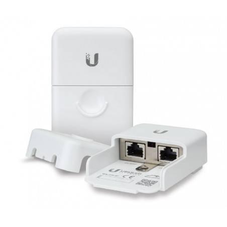 Ubiquiti ETH-SP Ethernet Surge Protector อุปกรณ์ปกป้องระบบเครือข่ายที่เกิดจากฟ้าผ่าผ่านสาย Lan