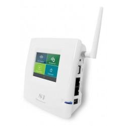 LoopComm LP-S1 อุปกรณ์ Wifi Repeater ความเร็ว 150Mbps กำลังส่ง 800mW ติดตั้งง่าย ใช้ระบบ Touch Screen