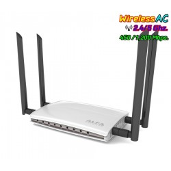 ALFA AC1200R Wireless Broadband Router 2.4/5GHz มาตรฐาน ac ความเร็วสูงสุด 1200Mbps Port Gigabit Broadband Router