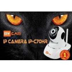 MyCam IP-C70HR กล้อง Wireless IP Camera แบบไร้สาย รองรับ Pan / Tilt ความละเอียด HD 720P พร้อม IR ราคาประหยัดมาก กล้อง IP Came...