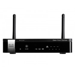Cisco RV215W VPN Wireless Router VPN 1 Tunnels, 1 Port Wan, 4 Port Lan, 5000 Sessions, Wireless 2.4GHz Cisco (ซิสโก้)