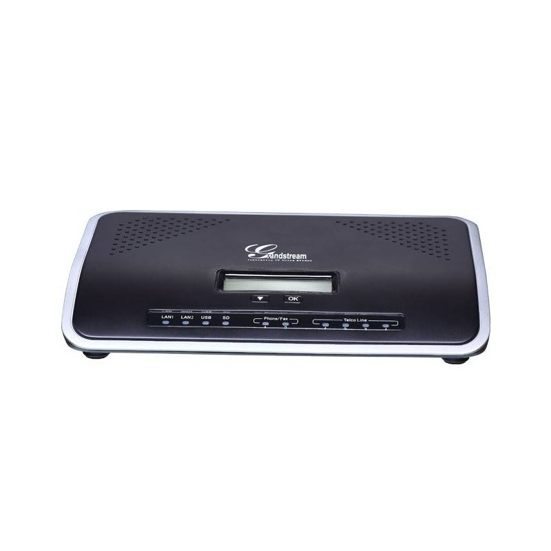 Grandstream VOIP / IP-PBX (ระบบโทรศัพท์แบบ IP) Grandstream UCM6104 ตู้สาขา All-in-one IP-PBX รองรับ 4คู่สายนอก และ 2คู่สายใน ...