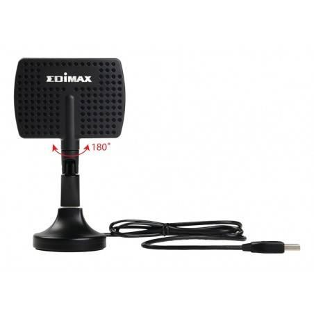 Edimax EW-7811DAC Wireless USB Adapter แบบ Dual-Band 2.4/5GHz มาตรฐาน AC ความเร็ว 433Mbps เสาแบบ Panel