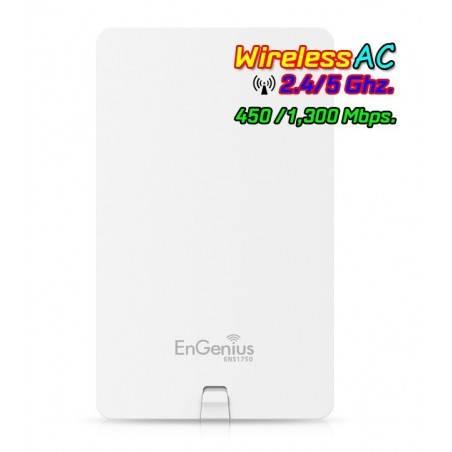 Engenius ENS1750 Accees Point แบบ Dualband 2.4/5GHz มาตรฐาน AC ความเร็วสูงสุด 1300Mbps