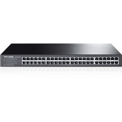TP-LINK TL-SF1048 Unmanaged Rackmount Switch ขนาด 48 port ความเร็ว 10/100Mbps