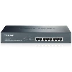 TP-Link TL-SG1008PE POE Switch 8 Port ความเร็ว Gigabit รองรับ POE มาตรฐาน 802.3af จำนวน 8 Port 124W