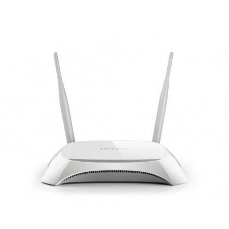 TP-Link TL-MR3420 3G Wireless Router ใช้ร่วมกับ 3G USB มาตรฐาน 802.11n ย่านความถี่ 2.4GHz ความเร็ว 300Mbps