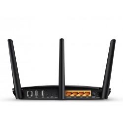 TP-Link Archer D5 AC1200 ADSL Modem Wireless Router แบบ Dual-band 2.4/5GHz มาตรฐาน AC ความเร็วสูงสุด 867Mbps Port Gigabit TP-...