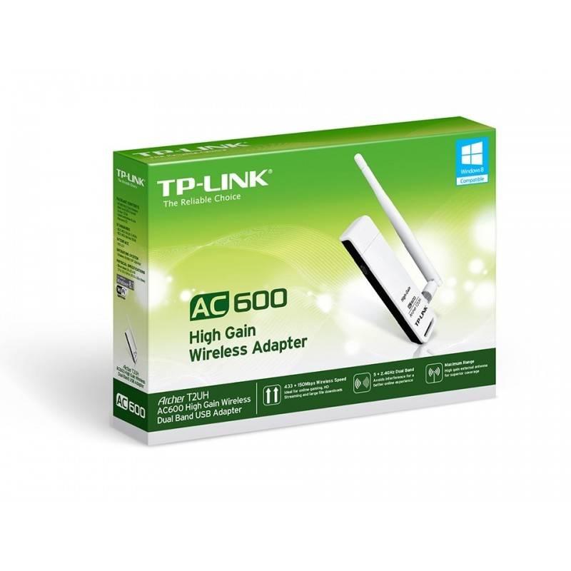 TP-Link Archer T2UH ตัวรับสัญญาณ WIFI แบบ Dual-Band 2.4/5GHz มาตรฐาน AC ความเร็ว 433Mbps เสา Omni 3dBi ถอดเปลี่ยนได้