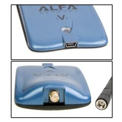 ALFA AWUS036NHV ตัวรับสัญญาณ Wireless ระยะไกล แบบ USB กำลังส่งแรงสุดถึง 1500mW ความเร็ว 150Mbps Wireless Adapter (รับสัญญาณ W...
