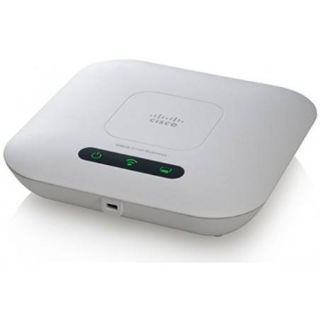 Cisco WAP121-E-K9 Wireless Access Point มาตรฐาน 802.11N 2.4GHz 300Mbps รองรับ VLAN รองรับ POE 802.3af