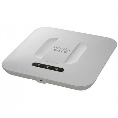 Cisco WAP551-E-K9 Wireless Access Point แบบ Dual-Band 2.4/5GHz (เลือกใช้งานได้ 1 ย่าน) มาตรฐาน N ความเร็ว 450Mbps
