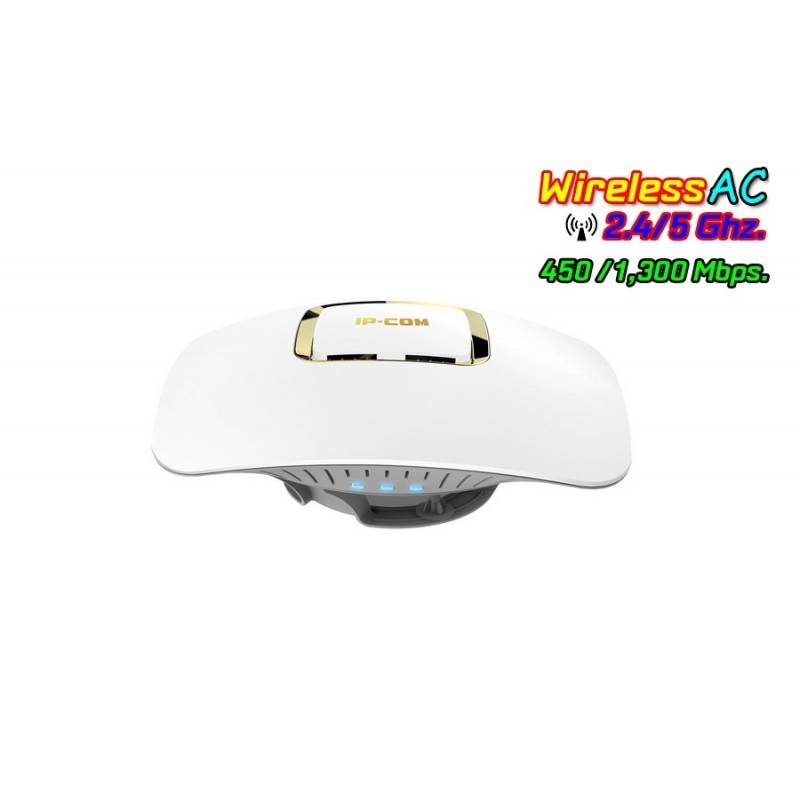 IP-COM W185AP Wireless Access Point AC Dual-band ความเร็ว 1350Mbps รองรับ Access Control, POE Wireless AccessPoint (กระจายสัญ...