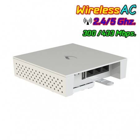 IgniteNet Spark SP-AC750-3AF Access Point มาตรฐาน AC ความถี่ 2.4/5GHz ความเร็วสูงสุด 433Mbps รองรับ POE 802.3af