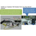 NC-Link NC-PUS051D-24V Passive POE Switch 5 Port 10/100Mbps จ่ายไฟ 4 Port 24VDC สูงสุด 72W