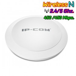 IP-COM W75AP Wireless Access Point Dual-Band 2.4/5GHz มาตรฐาน N ความเร็วสูงสุด 450Mbps รองรับ Access Controller, POE Wireless...