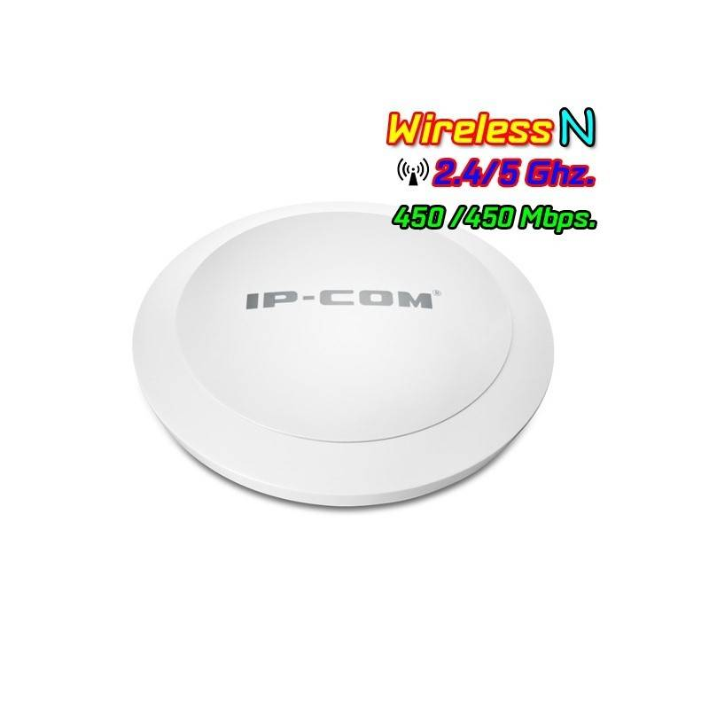 IP-COM W75AP Wireless Access Point Dual-Band 2.4/5GHz มาตรฐาน N ความเร็วสูงสุด 450Mbps รองรับ Access Controller, POE